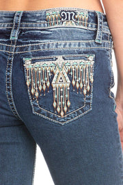 Head Of The Tribe Bootcut Jeans