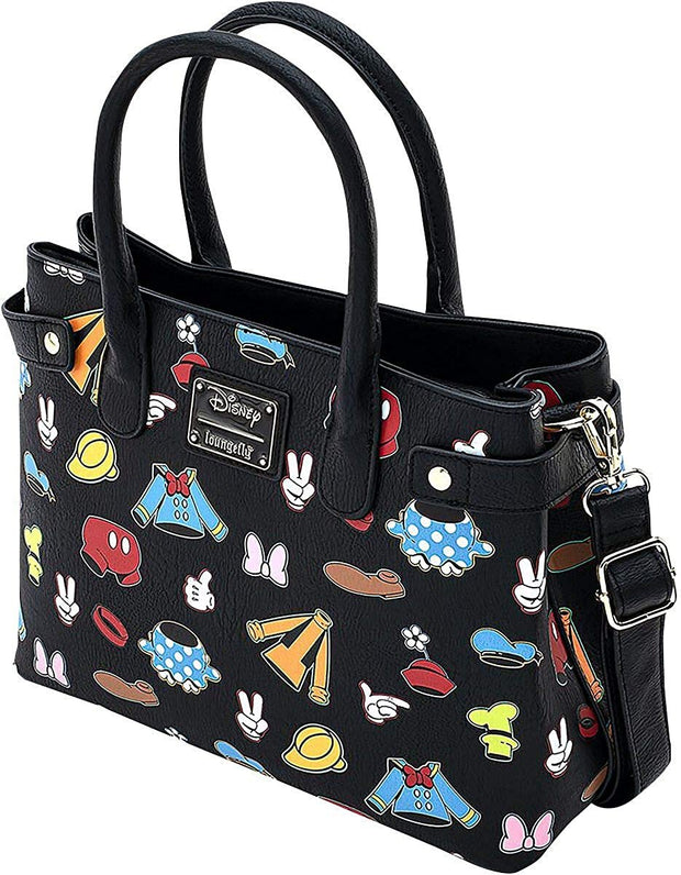 Disney Sensational 6 Outfits Allover Print Crossbody Bag