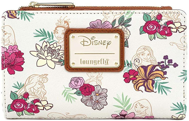 Disney Princess Floral Allover Print Wallet