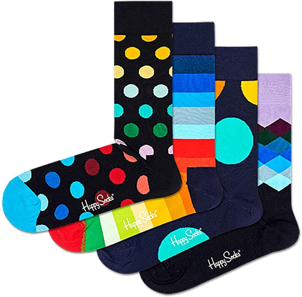 Classic Multicolor Socks 4-Pack Gift Box