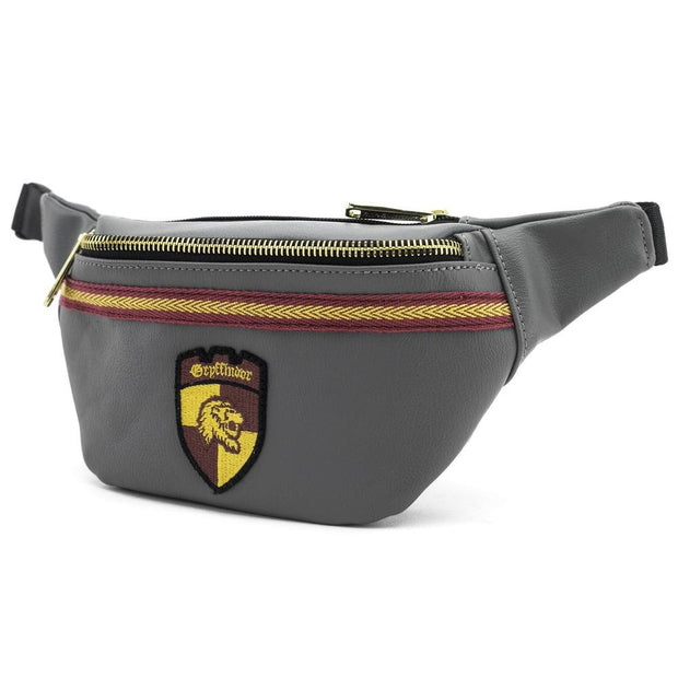 LOUNGEFLY X HARRY POTTER GREY GRYFFINDOR CREST FANNY PACK - SIDE