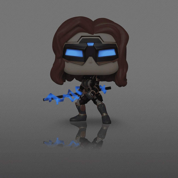 Marvel Avengers Gamerverse Black Widow POP! Vinyl Figure Glow in the Dark Chase Edition