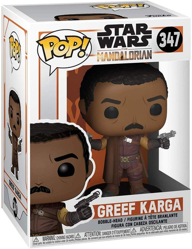 Funko Star Wars: The Mandalorian - Greef Karga, Multicolour