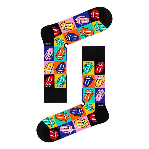 Rolling Stones Socks Gift Box Set - 6-Pack