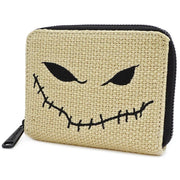 Loungefly x Nightmare Before Christmas Oogie Boogie Burlap Wallet - SIDE