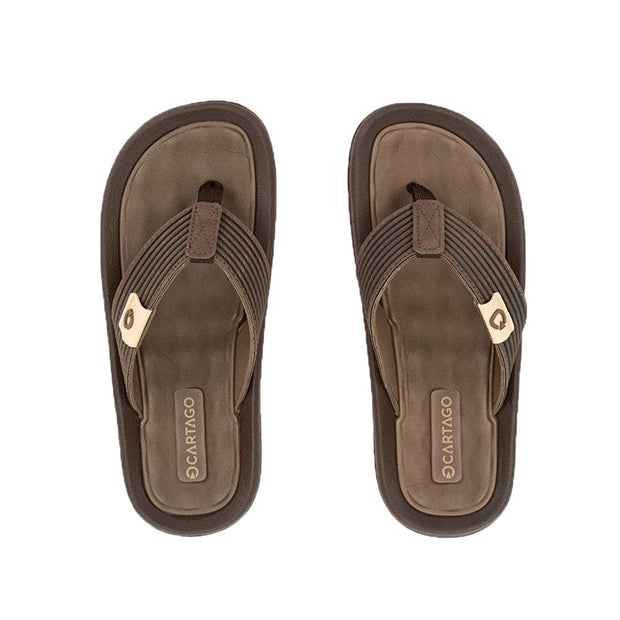 CARTAGO DUNAS VI MEN'S SANDALS CONFORMING EVA INSOLE - BROWN TOP