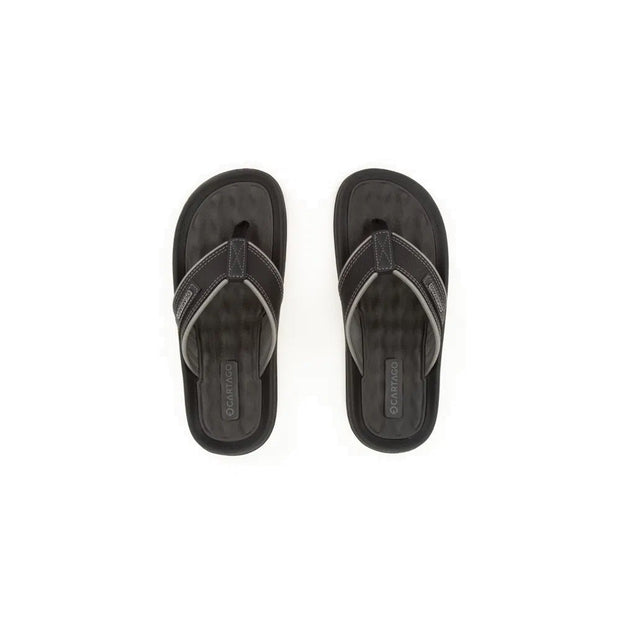 CARTAGO DUNAS II MEN'S SANDALS - BLACK GREY TOP