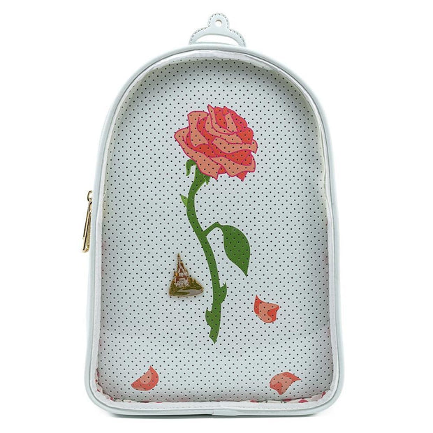 Disney Beauty and the Beast Pin Collector Convertible Backpack