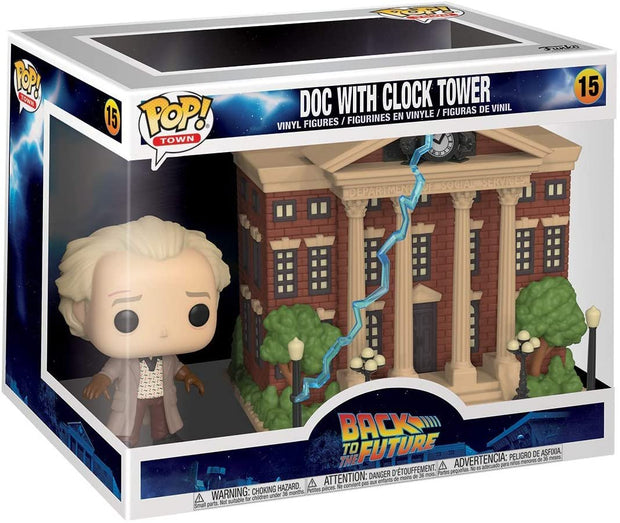 Back to the Future Doc with Clock Tower POP! Vinyl Figure