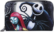 Disney Nightmare Before Christmas SImply Meant to Be Zip-Around Wallet