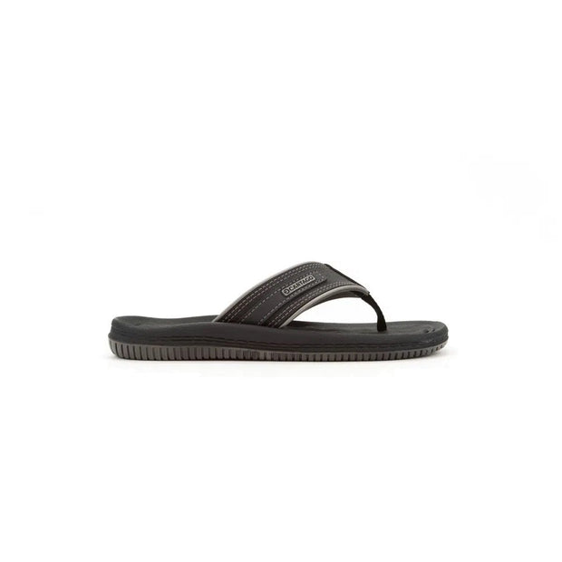 CARTAGO DUNAS II MEN'S SANDALS - BLACK GREY OUTSIDE