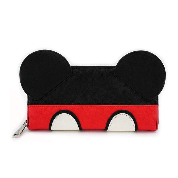 Loungefly Disney Mickey Ears Wallet - FRONT