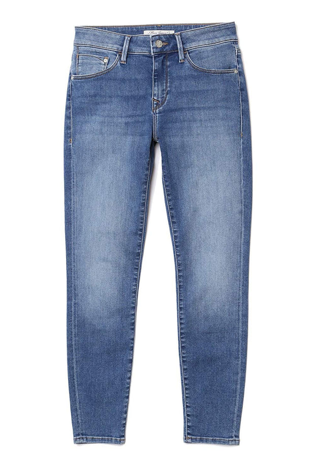 Adriana Mid Rise Super Skinny Jeans