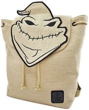 Disney Nightmare Before Christmas Oogie Boogie Burlap Mini Backpack