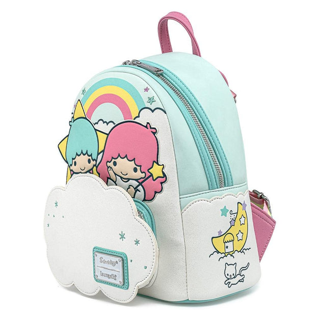 Sanrio Little Twin Stars Two Stars on Cloud Mini Backpack - Side Profile