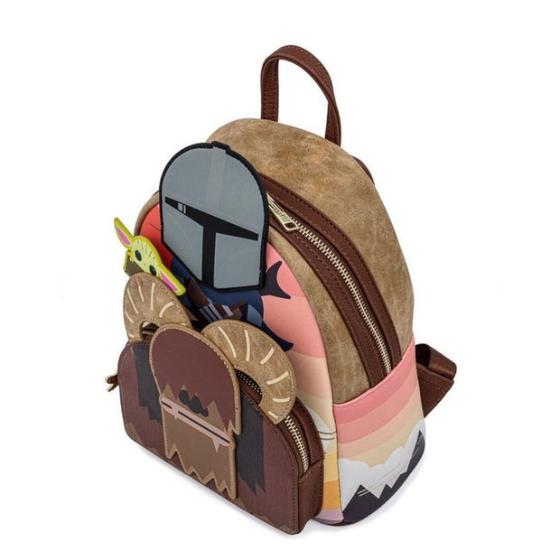 Star Wars Mandalorian Bantha Ride Mini Backpack - May Preorder