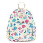 Disney Sleeping Beauty Floral Fairy Godmother Allover Print Mini Backpack - Front