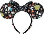 Disney Nightmare Before Christmas Chibi Allover Print Ears Headband