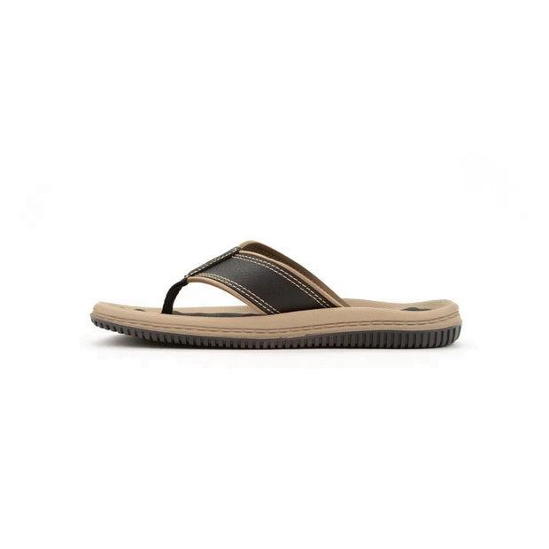 CARTAGO DUNAS II MEN'S SANDALS - BLACK BEIGE INSIDE