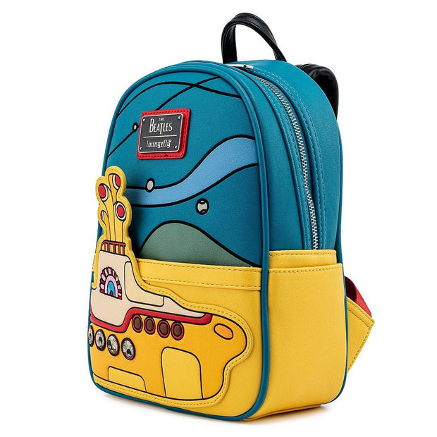 The Beatles Yellow Submarine Mini Backpack - Side