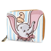 Loungefly x Disney Dumbo Striped Faux-Leather Wallet - SIDE