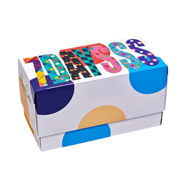 7-Day Socks Gift Box Set - 7-Pack