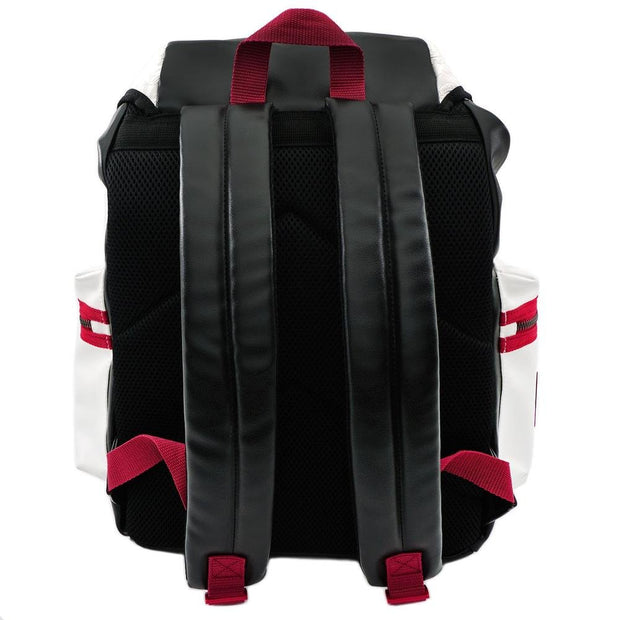 LOUNGEFLY X STAR WARS WHITE TROOPER DEBOSSED BACKPACK - BACK
