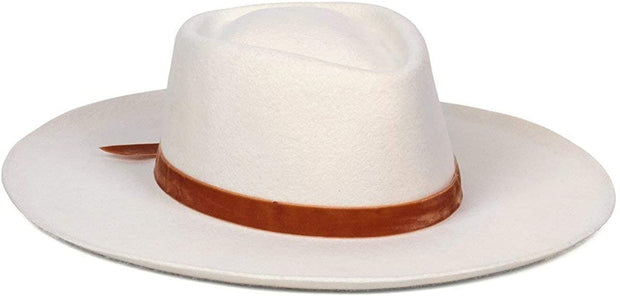 Val Diamond Wool Fedora