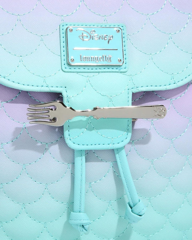 Disney Little Mermaid Ombre Scales Mini Backpack