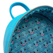 Loungefly x Pokemon Squirtle Cosplay Faux Leather Mini Backpack - INSIDE PRINT