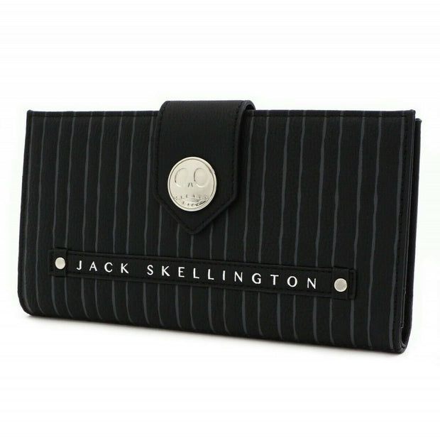 Loungefly x Nightmare Before Christmas Jack Skellington Flap Wallet - SIDE