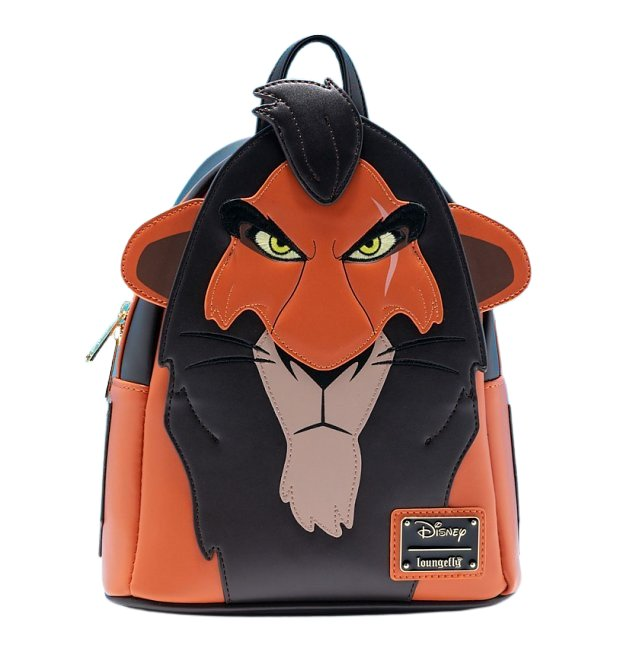 Disney Lion King Scar Cosplay Mini Backpack - February Preorder