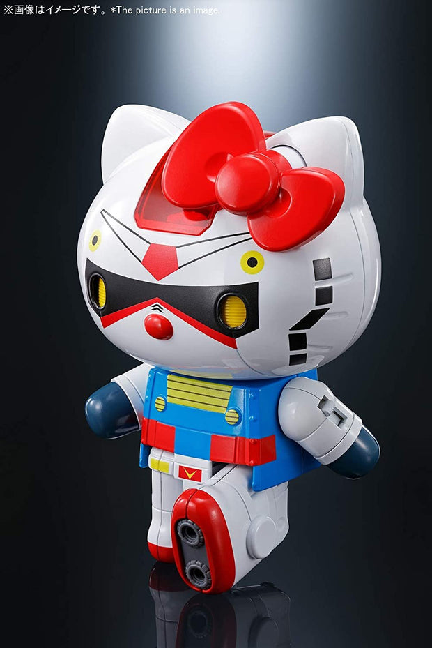 Mobile Suit Gundam x Sanrio Tamashii Nations Hello Kitty Chogokin Figure