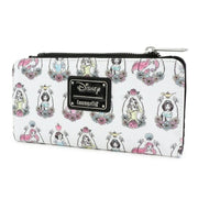 Loungefly x Disney Princess Portraits Allover-Print Wallet - SIDE