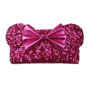 Loungefly x Disney Minnie Mouse Pink Sequin Wallet - FRONT