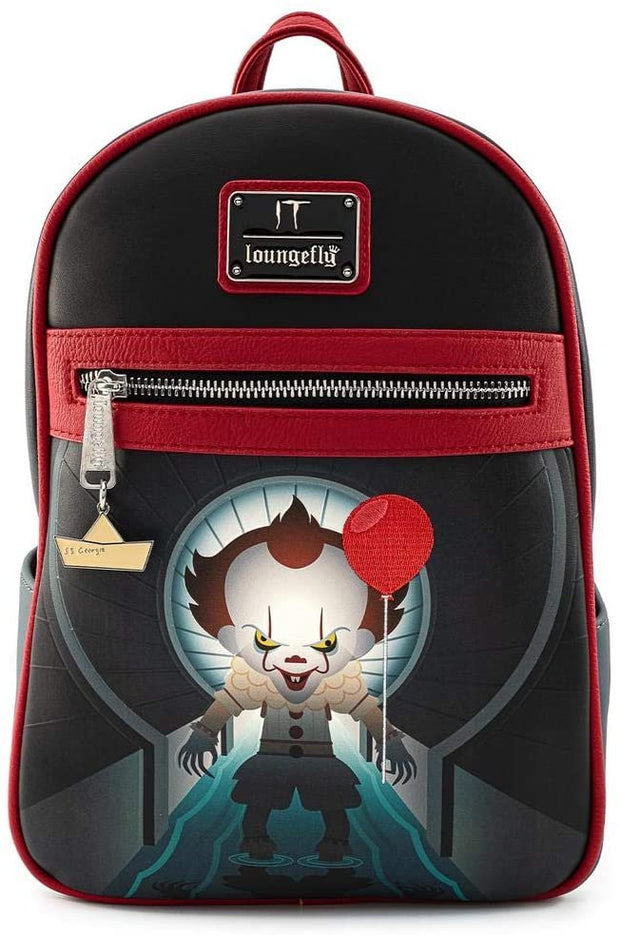 It Sewer Scene Pennywise Mini Backpack