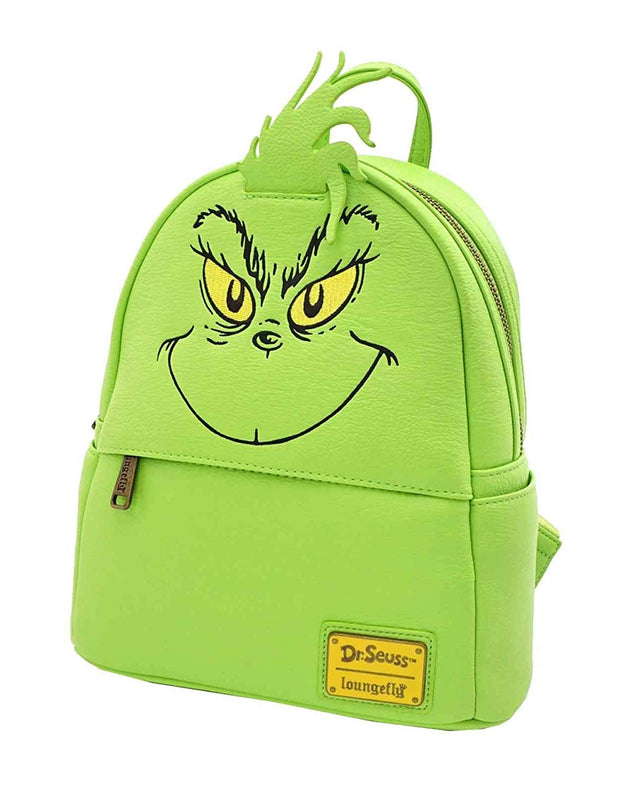 Dr. Seuss The Grinch Faux Leather Mini Backpack