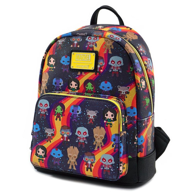 Loungefly Guardians of the Galaxy Faux Leather Mini Backpack - SIDE