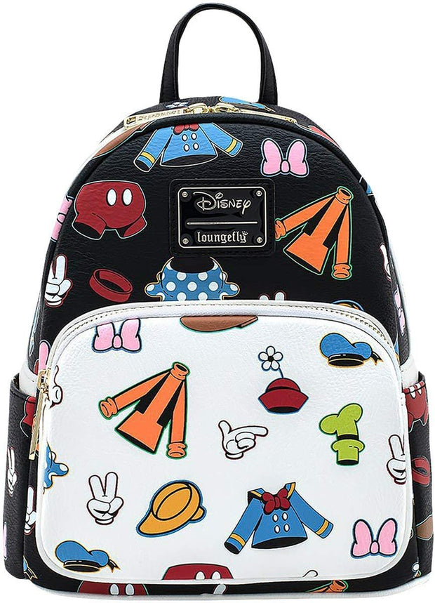 Disney Sensational 6 Outfits Allover Print Mini Backpack