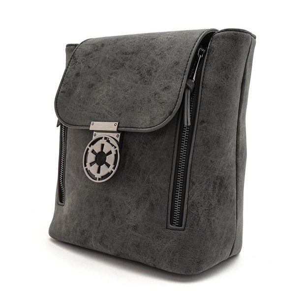 Loungefly x Star Wars Imperial Convertible Mini Backpack - SIDE