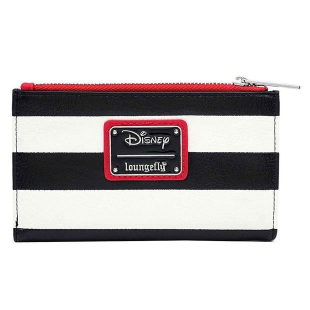 Loungefly x Disney 101 Dalmatians Striped Faux Leather Wallet - BACK