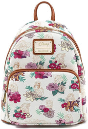 Disney Princess Floral Allover Print Mini Backpack