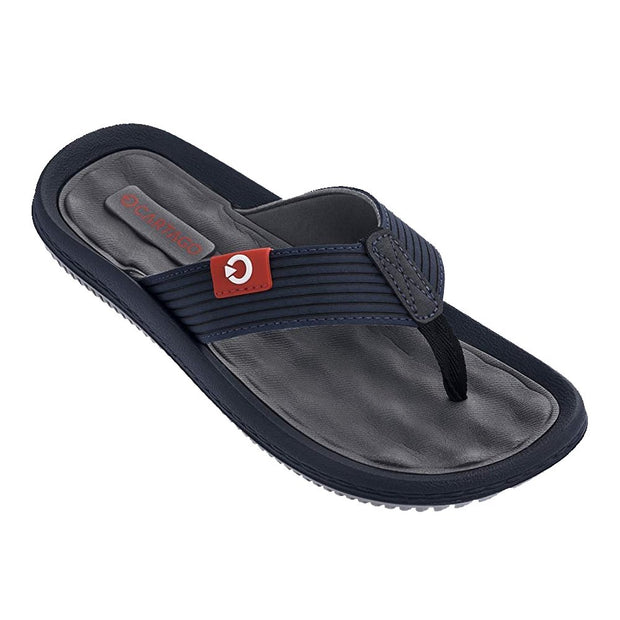 CARTAGO DUNAS VI MEN'S SANDALS CONFORMING EVA INSOLE - GREY BLUE FRONT