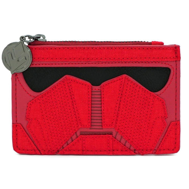LOUNGEFLY X STAR WARS RED SITH CARD HOLDER - FRONT