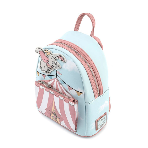 Disney Dumbo Flying Circus Tent Mini Backpack -  Aerial View