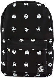 Disney Nightmare Before Christmas Jack Head Allover Print Nylon Backpack