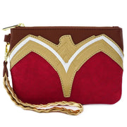 LOUNGEFLY X DC COMICS WONDER WOMAN COSPLAY WRISTLET - BACK