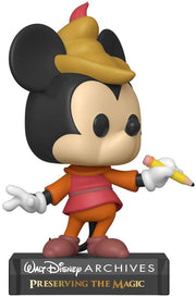 Funko Pop! Disney: Archives - Beanstalk Mickey, Multicolour, 3.75 inches