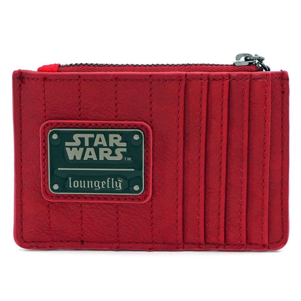 LOUNGEFLY X STAR WARS RED SITH CARD HOLDER - BACK