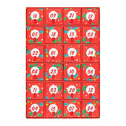 Advent Calendar Socks Holiday Gift Box Set- 24-Pack